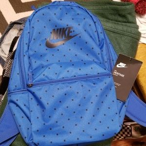 Nike polka dot backpack